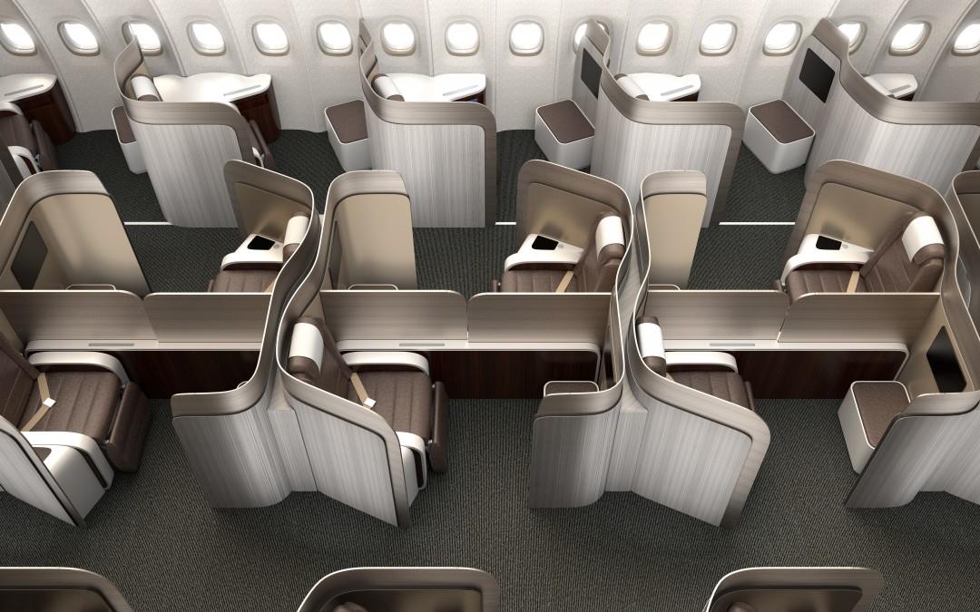 Aménagement intérieur aéronautique : les sièges luxe