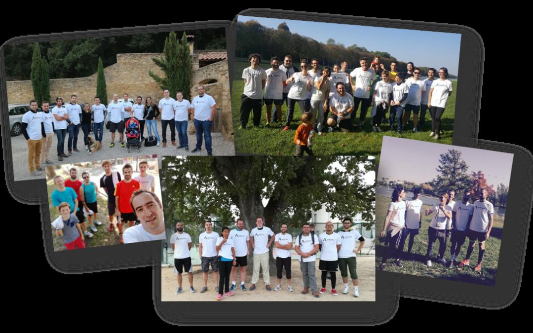 3è édition 2018 de la Course Solidaire du Groupe AMETRA
